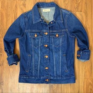 Madewell Classic Fit Jean Jacket in Briarwood Wash